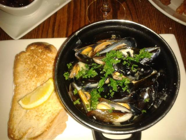 Scalinis mussels